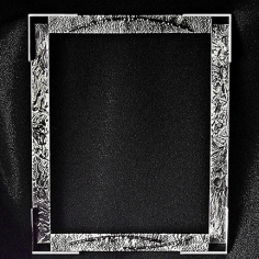 Cadre 8 x 10 po. - Argent sterling.